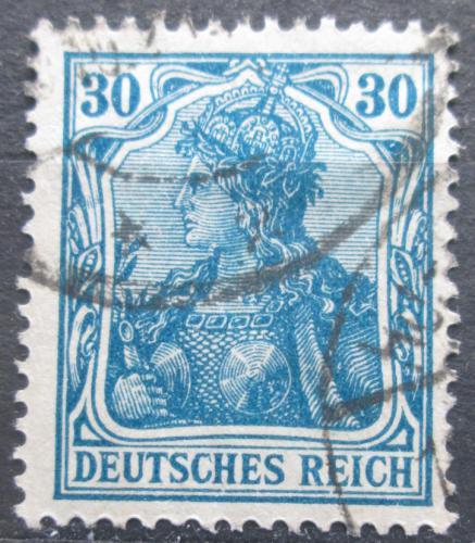 Poštovní známka Nìmecko 1920 Germania Mi# 144 II