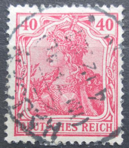 Poštovní známka Nìmecko 1920 Germania Mi# 145 a II