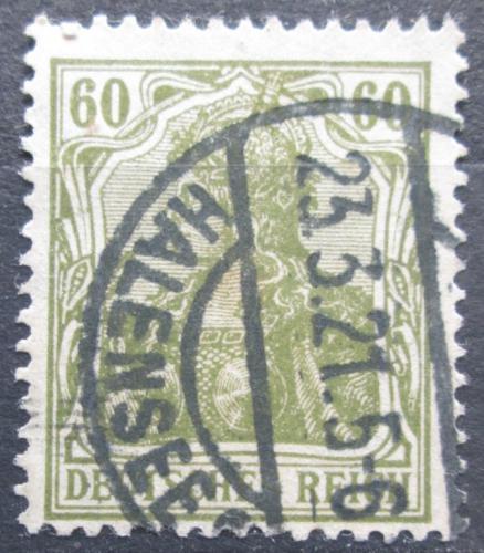 Poštovní známka Nìmecko 1920 Germania Mi# 147