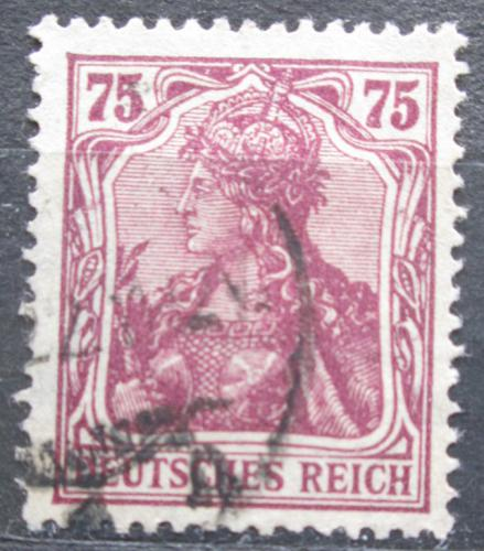 Poštovní známka Nìmecko 1920 Germania Mi# 148 II