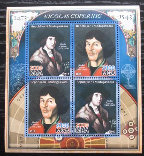 Poštovní známky Madagaskar 2013 Mikuláš Kopernik Mi# N/N