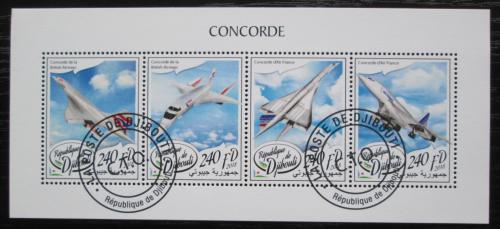 Poštovní známky Džibutsko 2018 Concorde Mi# N/N
