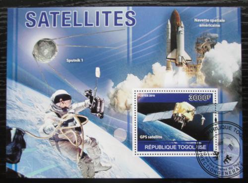 Poštovní známka Togo 2010 Vesmírné satelity Mi# Block 569 Kat 12€