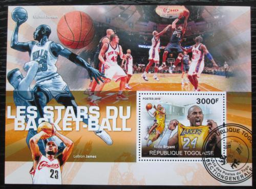 Poštovní známka Togo 2010 Basketbal Mi# Block 531 Kat 12€