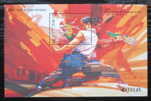 Poštovní známka Macao 1997 Draèí festival Mi# Block 45