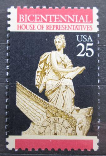Poštovní známka USA 1989 Mramorové hodiny, C. Franzoni Mi# 2038