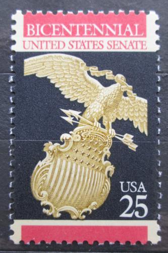 Poštovní známka USA 1989 Orel z budovy Senátu Mi# 2039