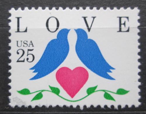 Poštovní známka USA 1990 Láska Mi# 2073 A