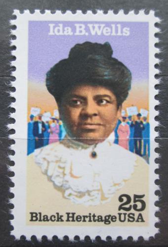 Poštovní známka USA 1990 Ida B. Wells Mi# 2074