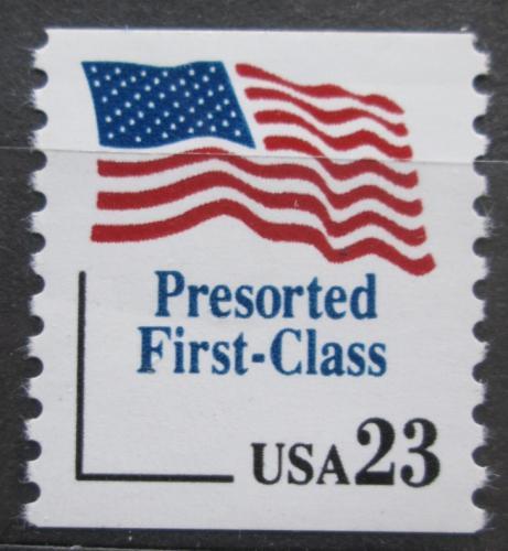 Poštovní známka USA 1991 Státní vlajka Mi# 2181
