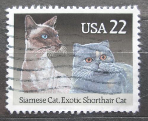 Poštovní známka USA 1988 Koèky Mi# 1965