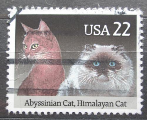 Poštovní známka USA 1988 Koèky Mi# 1966