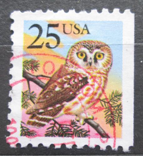 Poštovní známka USA 1988 Sýc rousný Mi# 1981 D
