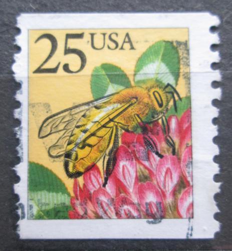 Poštovní známka USA 1988 Vèela Mi# 2003