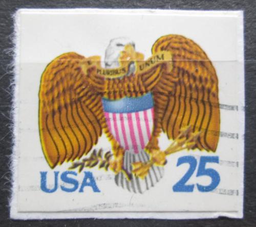 Poštovní známka USA 1989 Státní vlajka a orel Mi# 2059