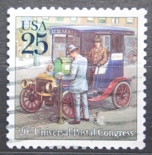 Poštovní známka USA 1989 Poštovní automobil Mi# 2067