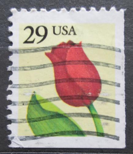 Poštovní známka USA 1991 Tulipán Mi# 2125 E