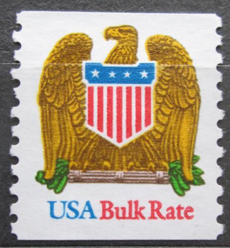 Poštovní známka USA 1993 Státní znak a orel Mi# 2364 B