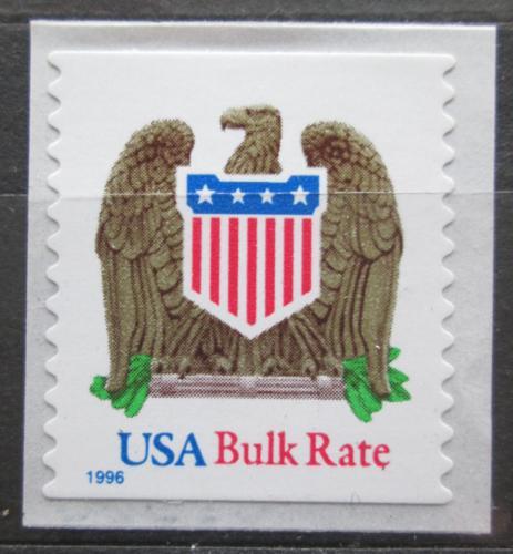 Poštovní známka USA 1996 Státní znak a orel Mi# 2725