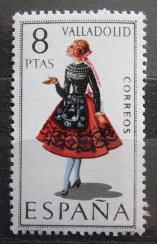 Poštovní známka Španìlsko 1971 Lidový kroj Valladolid Mi# 1910
