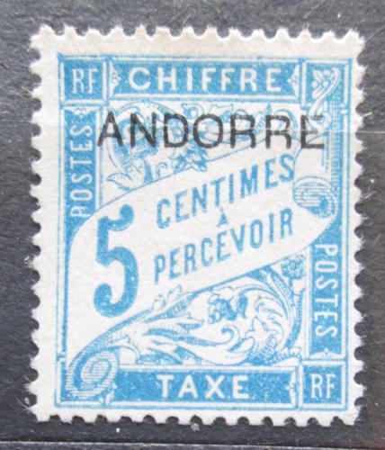 Poštovní známka Andorra Fr. 1931 Doplatní Mi# 1