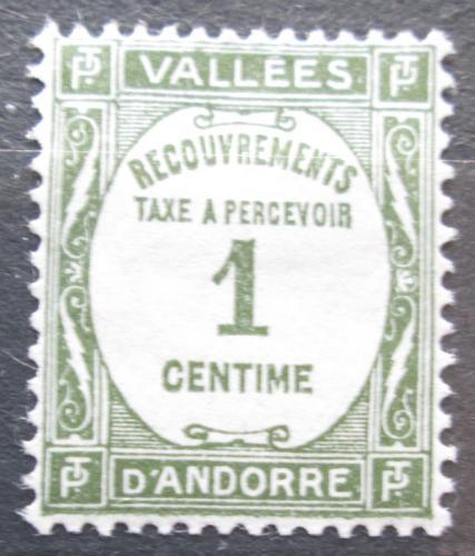 Poštovní známka Andorra Fr. 1932 Doplatní Mi# 9 Kat 5€