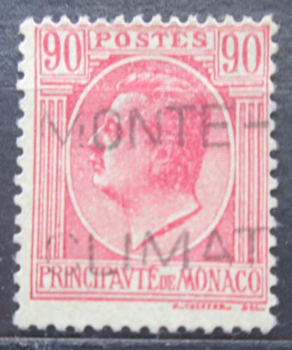 Poštovní známka Monako 1927 Kníže Louis II. Mi# 94
