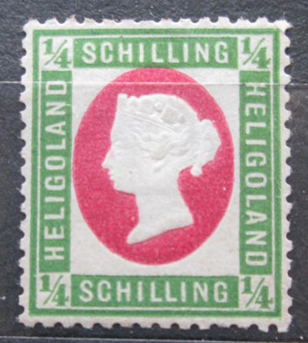 Poštovní známka Helgoland 1873 Královna Viktorie Mi# 8 Kat 45€