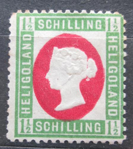 Poštovní známka Helgoland 1873 Královna Viktorie Mi# 10 Kat 70€