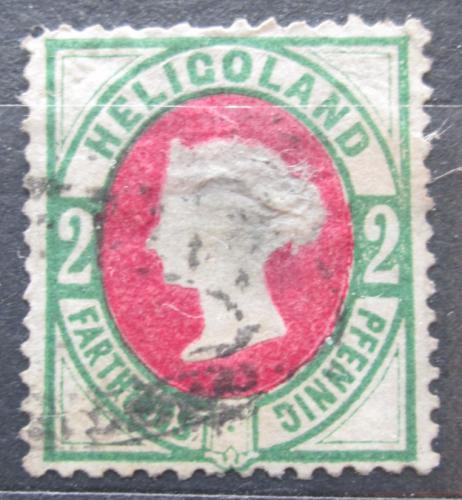 Poštovní známka Helgoland 1875 Královna Viktorie VELKÁ RARITA Mi# 12 Kat 1100€