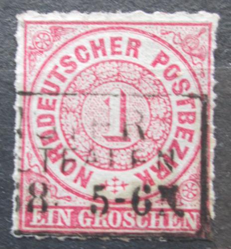 Poštovní známka Severonìmecká konfederace 1868 Nominál Mi# 4 Kat 4€