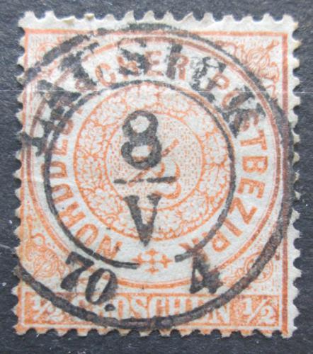 Poštovní známka Severonìmecká konfederace 1869 Nominál Mi# 15 Kat 5.50€