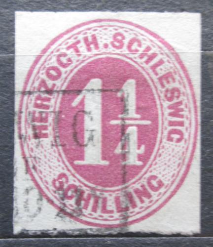 Poštovní známka Šlesvicko 1866 Nominál Mi# 22 Kat 30€