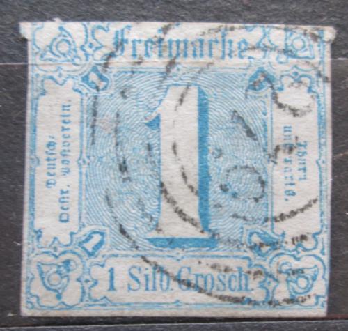 Poštovní známka Thurn a Taxis 1860 Èíselná hodnota Mi# 15 Kat 30€
