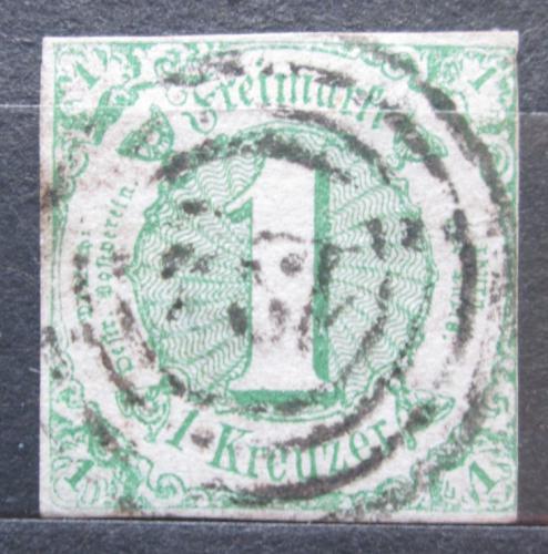 Poštovní známka Thurn a Taxis 1859 Èíselná hodnota Mi# 20 Kat 10€