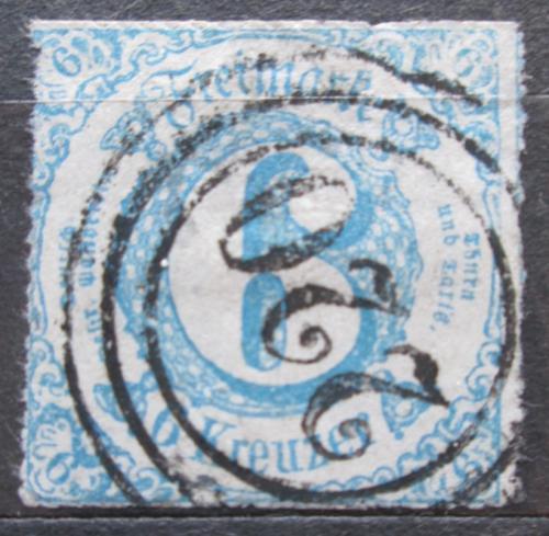 Poštovní známka Thurn a Taxis 1862 Èíselná hodnota Mi# 33 Kat 22€