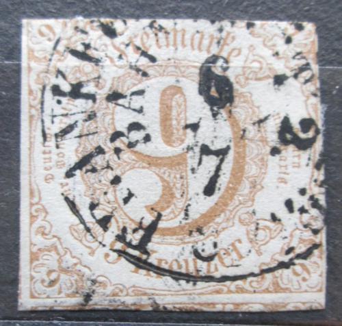 Poštovní známka Thurn a Taxis 1862 Èíselná hodnota Mi# 34 Kat 22€