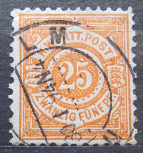 Poštovní známka Württembersko 1890 Nominální hodnota Mi# 57