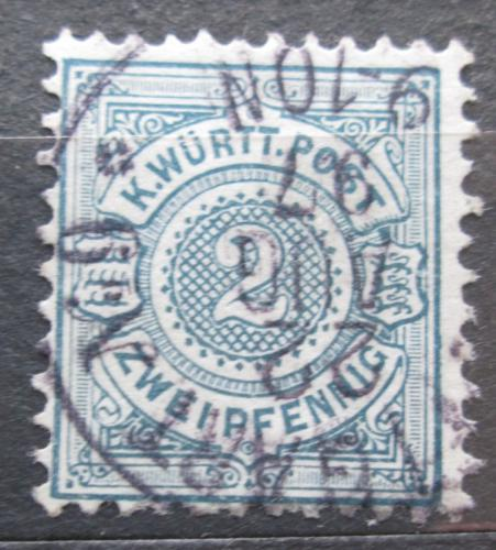 Poštovní známka Württembersko 1894 Nominální hodnota Mi# 60