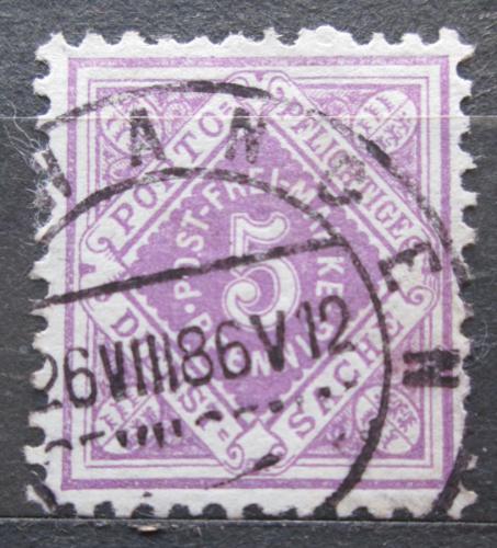 Poštovní známka Württembersko 1875 Nominální hodnota, úøední Mi# 101
