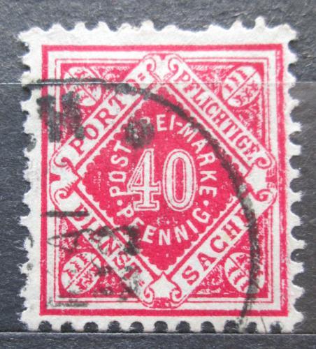 Poštovní známka Württembersko 1921 Nominální hodnota, úøední Mi# 153
