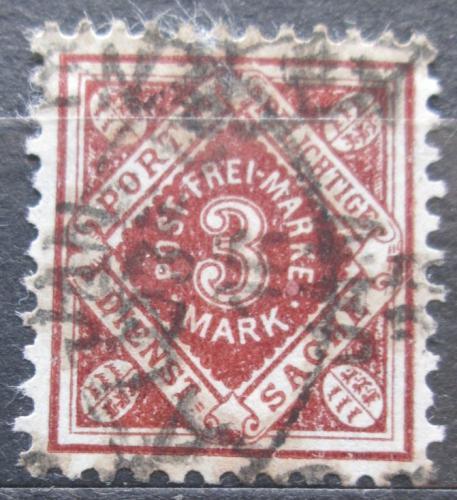 Poštovní známka Württembersko 1922 Nominální hodnota, úøední Mi# 158