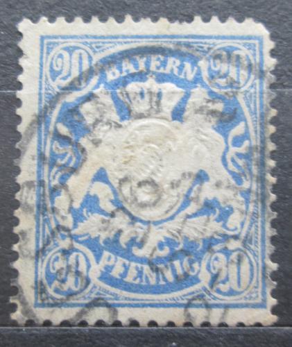 Poštovní známka Bavorsko 1888 Státní znak Mi# 57