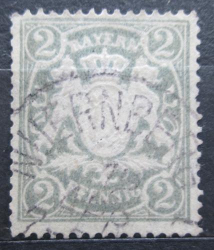 Poštovní známka Bavorsko 1900 Státní znak Mi# 65