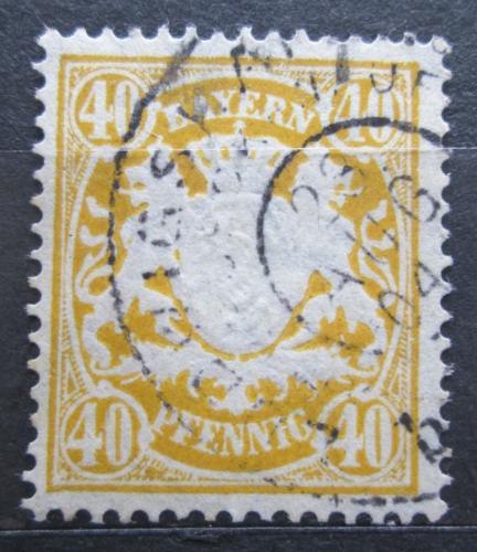 Poštovní známka Bavorsko 1900 Státní znak Mi# 67