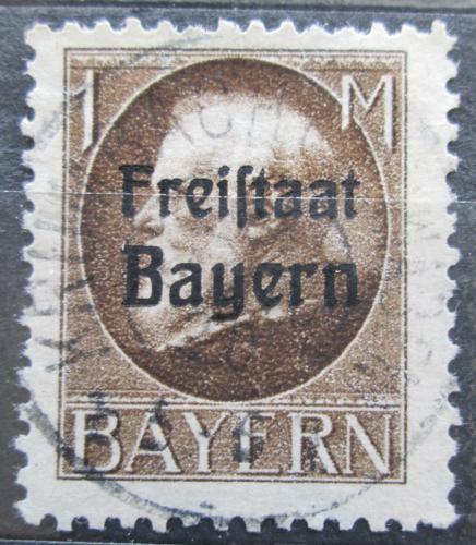 Poštovní známka Bavorsko 1919 Král Ludvík III. pøetisk Mi# 165 A Kat 4€