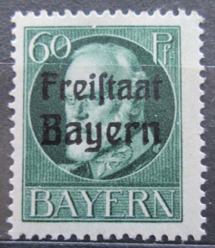 Poštovní známka Bavorsko 1919 Král Ludvík III. pøetisk Mi# 162 A