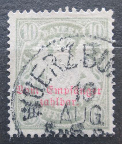 Poštovní známka Bavorsko 1888 Státní znak, doplatní Mi# 12