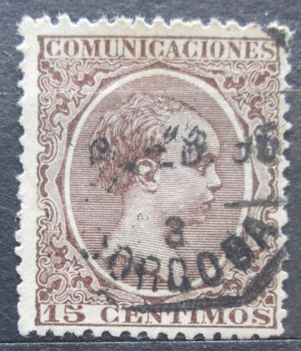 Poštovní známka Španìlsko 1889 Král Alfons XIII. Mi# 192