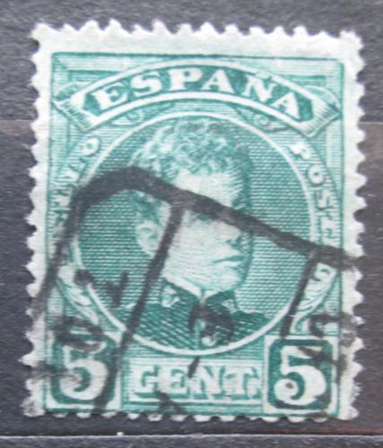 Poštovní známka Španìlsko 1901 Král Alfons XIII. Mi# 207